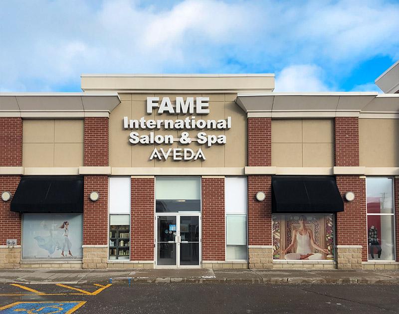 FAME International Salon & Spa store front